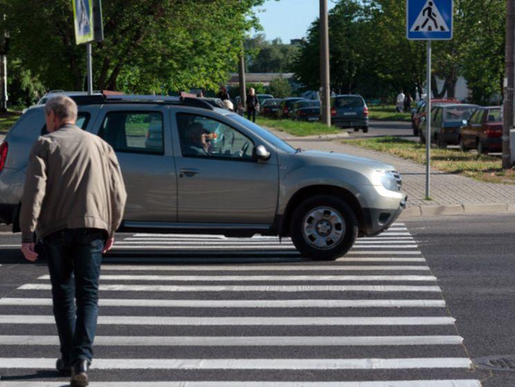 Что грозит водителю, не пропустившему пешехода на зебре
