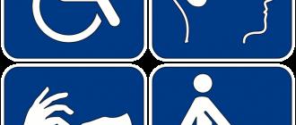 Символика инвалидности