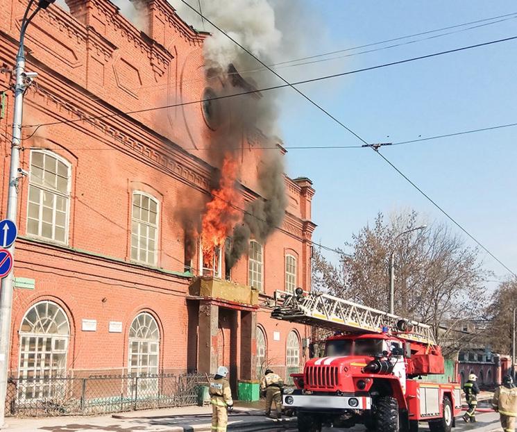 Правила безопасного поведения при пожаре