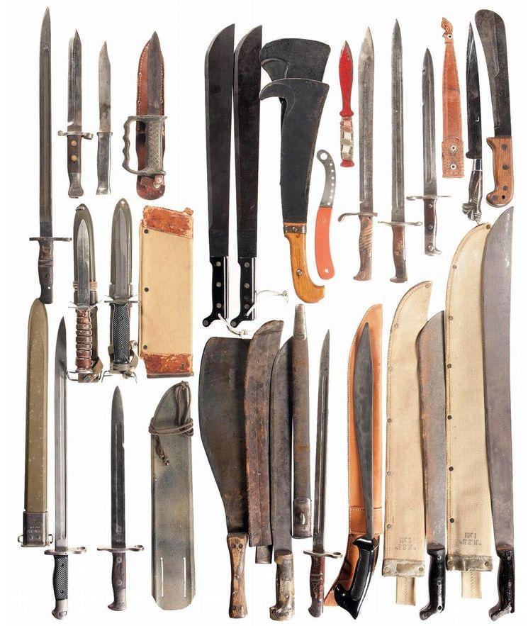 Какой нож считается холодным оружием