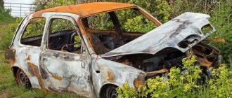 Новые штрафы автовладельцам за брошенные машины