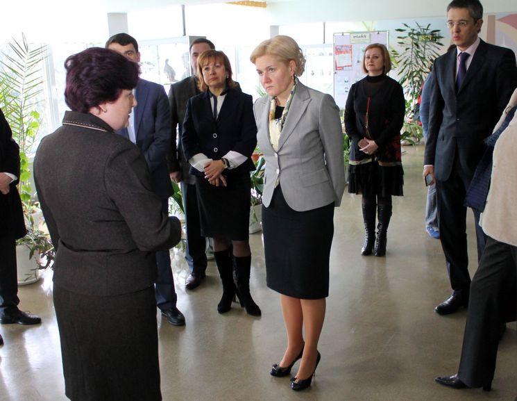 Заместитель председателя Правительства Российской Федерации Ольга Голодец