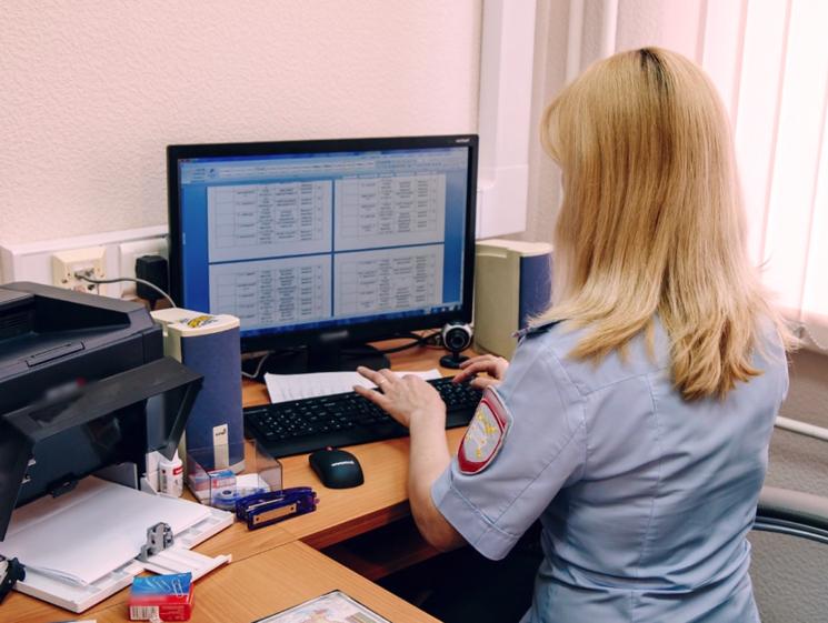Получение документов в отделе ГИБДД