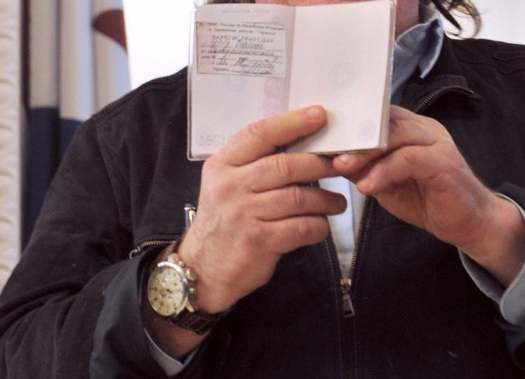 Получение паспорта с отметкой о снятии с регистрации