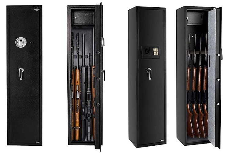 Правила хранения оружия дома в 2019 году - сейф для охотничьего ружья и патронов