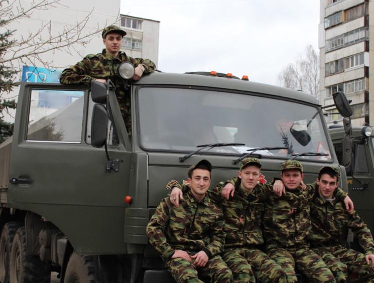 Сдача экзаменов военнослужащими на водительскую категорию