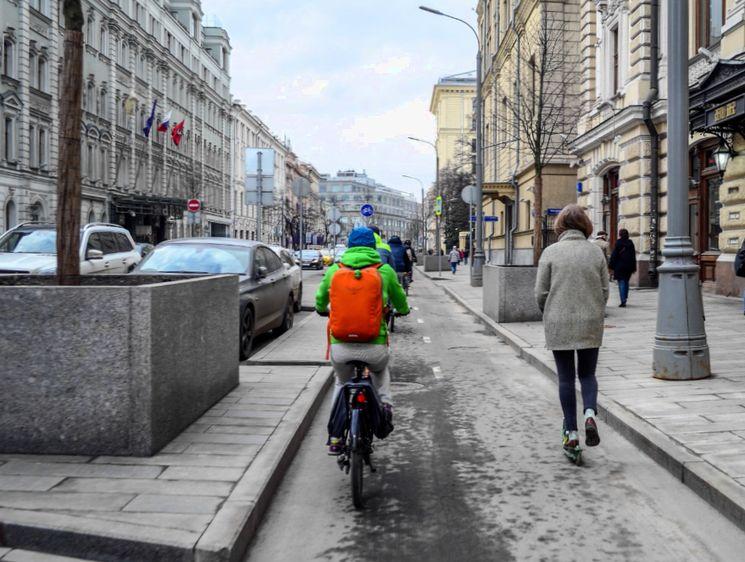 Какие существуют требования к движению велосипедистов