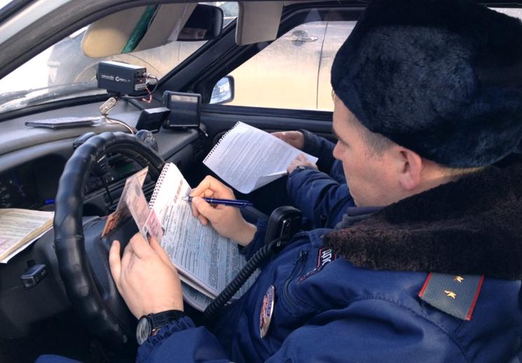 Требование занять место в патрульном автомобиле