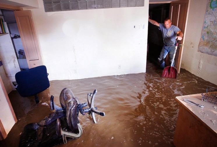 нас затопили соседи сверху что делать