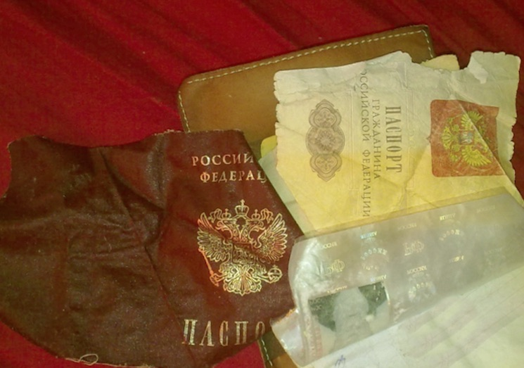 Замена испорченного паспорта - документы для восстановления